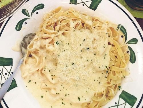 Olive Garden Fettuccine pasta recipe