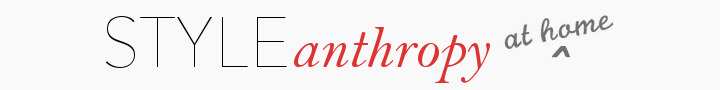STYLEanthropy at Home
