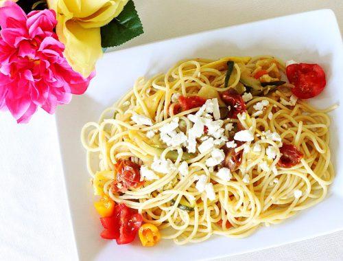 Summer Pasta Zucchini Squash Recipe