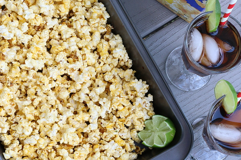 Margarita Popcorn Recipe