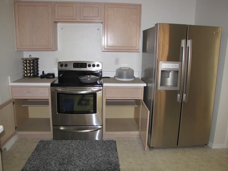 kitchen, new house, appliances, cabinets